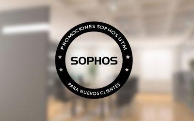 Promociones de Sophos UTM para nuevos clientes Q1 2014