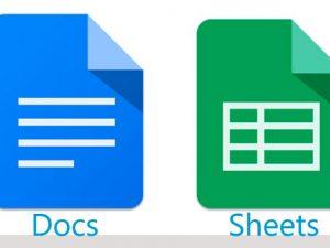 Descubre Google Docs y Sheets en iOS y Android