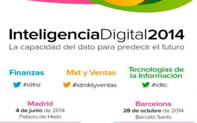 Asiste al evento Inteligencia Digital 2014: Business Intelligence, Big Data, Cloud Computing…