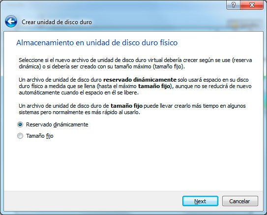 Virtualizar con Virtualbox en Windows