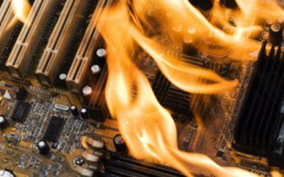 Riesgos de calentamiento de los PCs y portátiles en verano