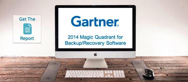 Cuadrante Mágico de Gartner 2014 para las soluciones de Backup