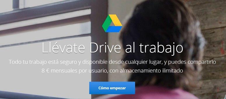 Google Drive for Work para empresas