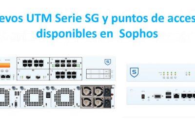 Sophos presenta nuevos UTM y Puntos de acceso