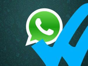 WhatsApp y la doble marca azul