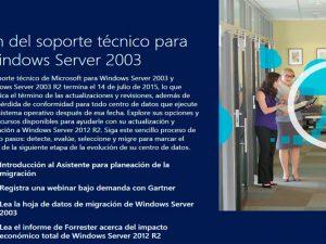 ¿Está preparada tu empresa para el fin del soporte de Windows Server 2003?