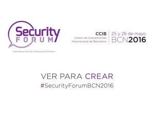 Security Forum 2016