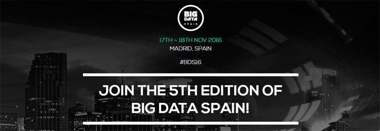 Big Data Spain 2016