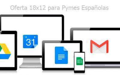Oferta limitada Google apps for work para las Pymes Españolas