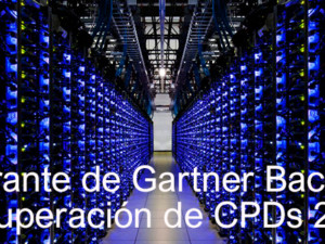 Cuadrante Mágico de Gartner para Software de Backup y Recuperación de Centros de Datos 2016