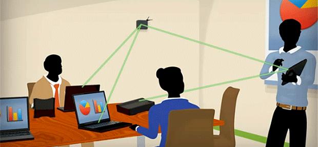 La oficina del futuro: oficina sin cables