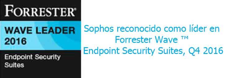Sophos Forrester Endpoint 2016