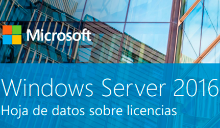 windows server 2016 versiones pdf