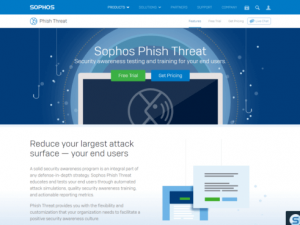 Sophos Phish Threat, un simulador de ataques de phising para empresas