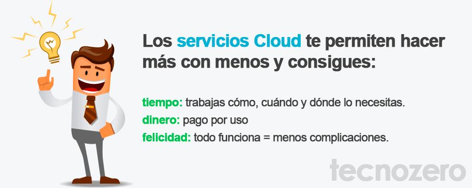 servicios cloud tecnozero
