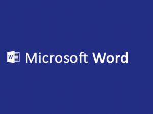 Word, procesador de texto