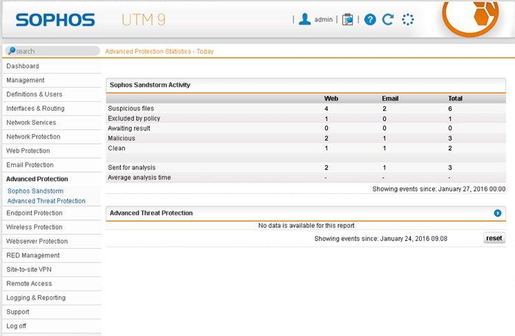 UTM 9 Screen