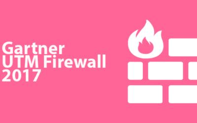 Cuadrante de Gartner para UTM firewall 2017