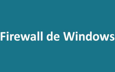 Firewall de Windows, ¿cómo lo desactivo?