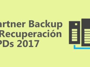 Cuadrante Mágico de Gartner - Backup y Recuperación de CPDs 2017