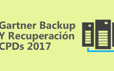 Cuadrante Mágico de Gartner – Backup y Recuperación de CPDs 2017