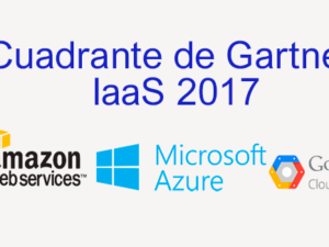 Cuadrante de Gartner Cloud Infrastructure as a Service 2017
