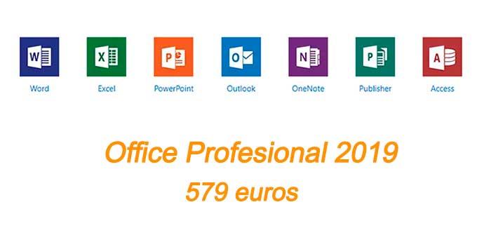 office profesional 2019 precios