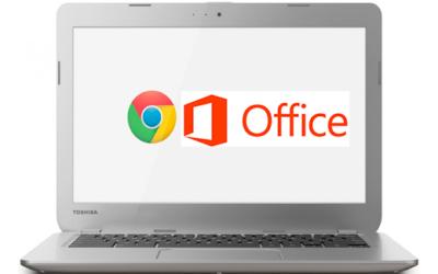 Microsoft Office llega a los Chromebooks