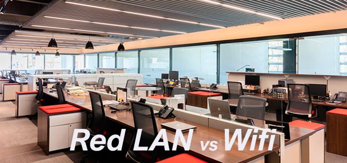 red lan vs wifi