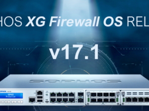 XG Firewall v17.1 ya disponible