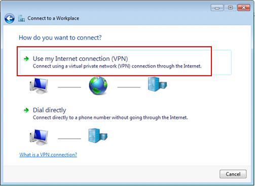 conexión por VPN