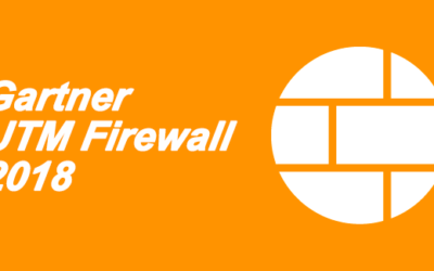 Cuadrante de Gartner para UTM firewall 2018