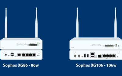 Nuevos firewalls de escritorio XG86(w) y XG106(w)