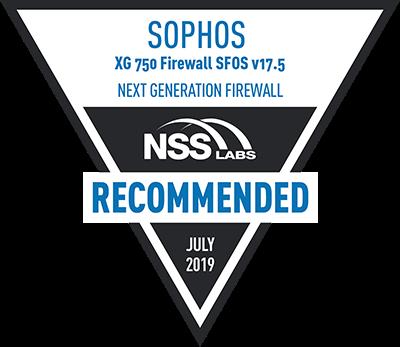 Sophos en Test grupal NGFW NSS Labs 2019