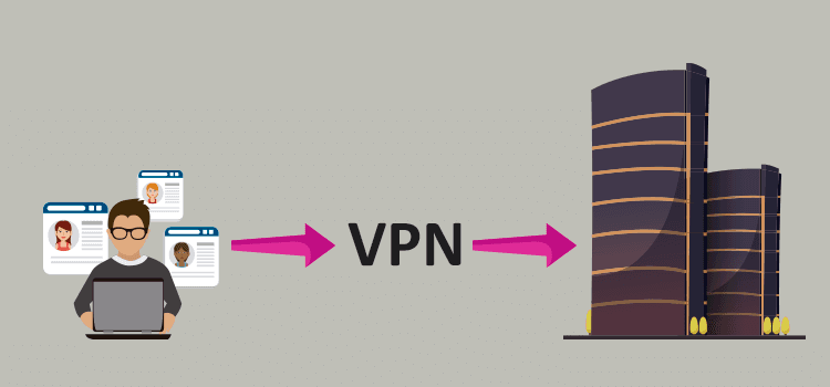 vpn a red