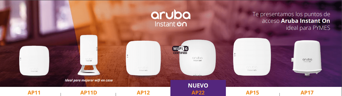 aruba wifi aps